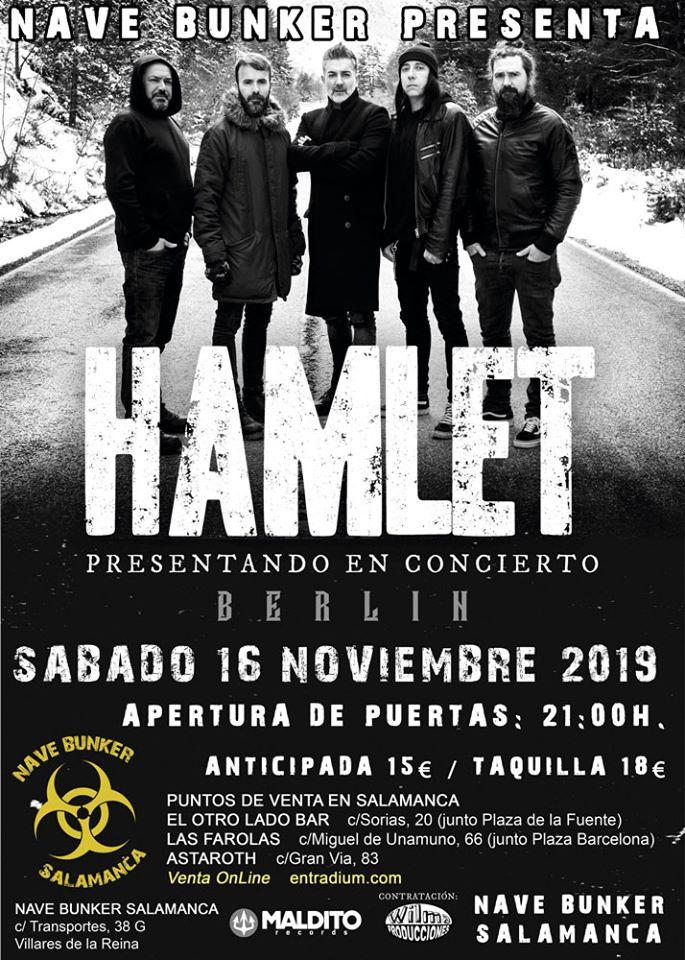 Nave Bunker Hamlet Villares de la Reina Noviembre 2019