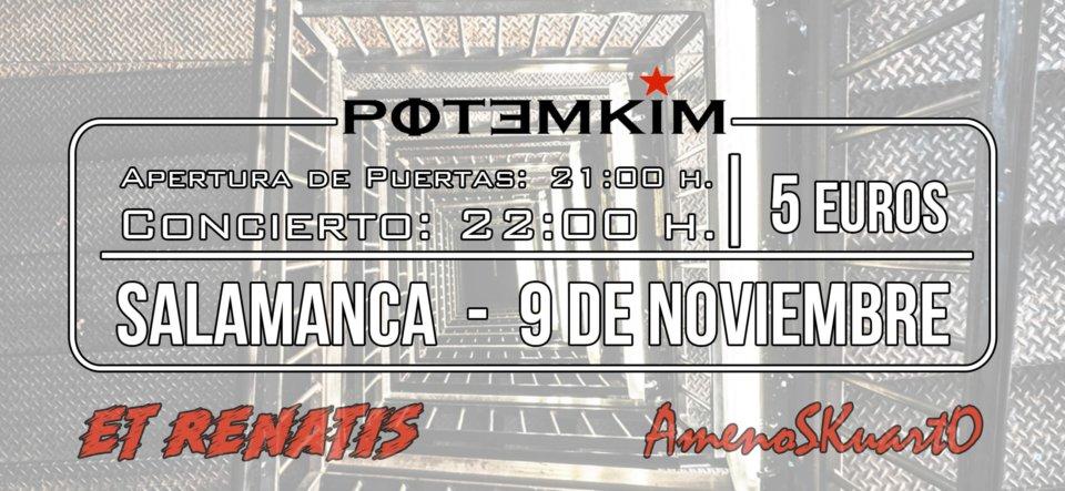 Potemkim AmenoSKuartO Salamanca Noviembre 2019