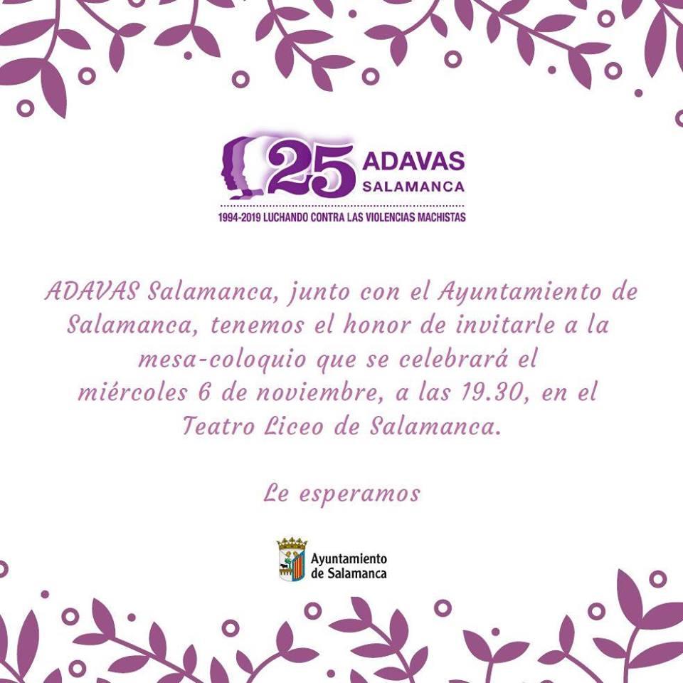 Teatro Liceo Asociación Adavas Salamanca Noviembre 2019