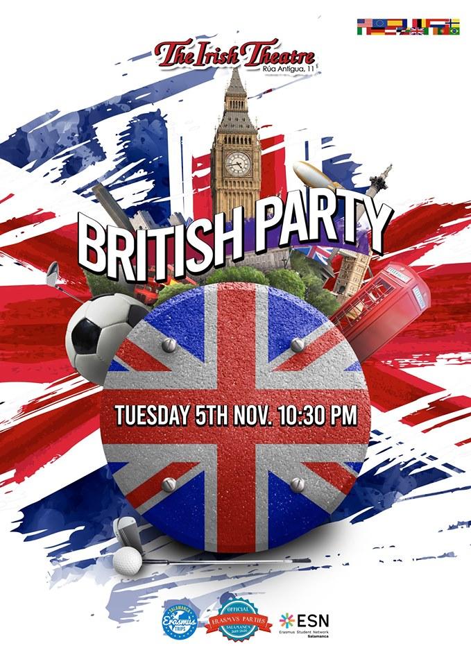 The Irish Theatre British Party Salamanca Noviembre 2019