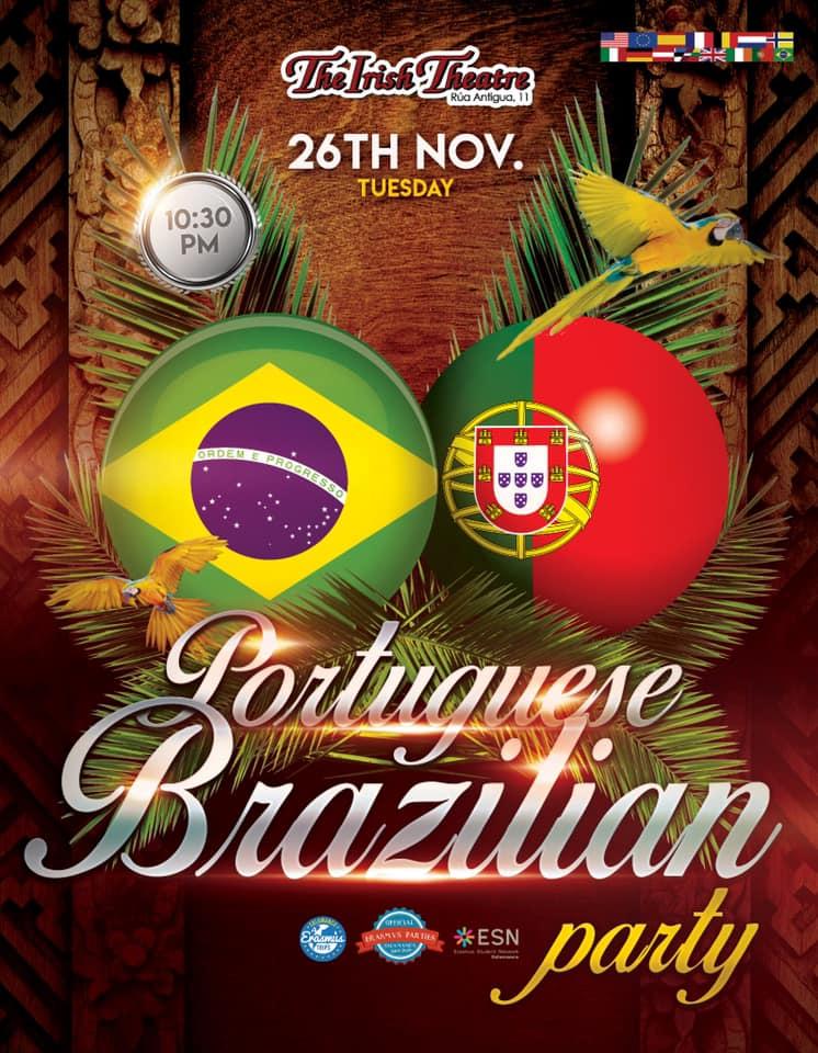 The Irish Theatre Fiesta de Portugal y Brasil Salamanca Noviembre 2019