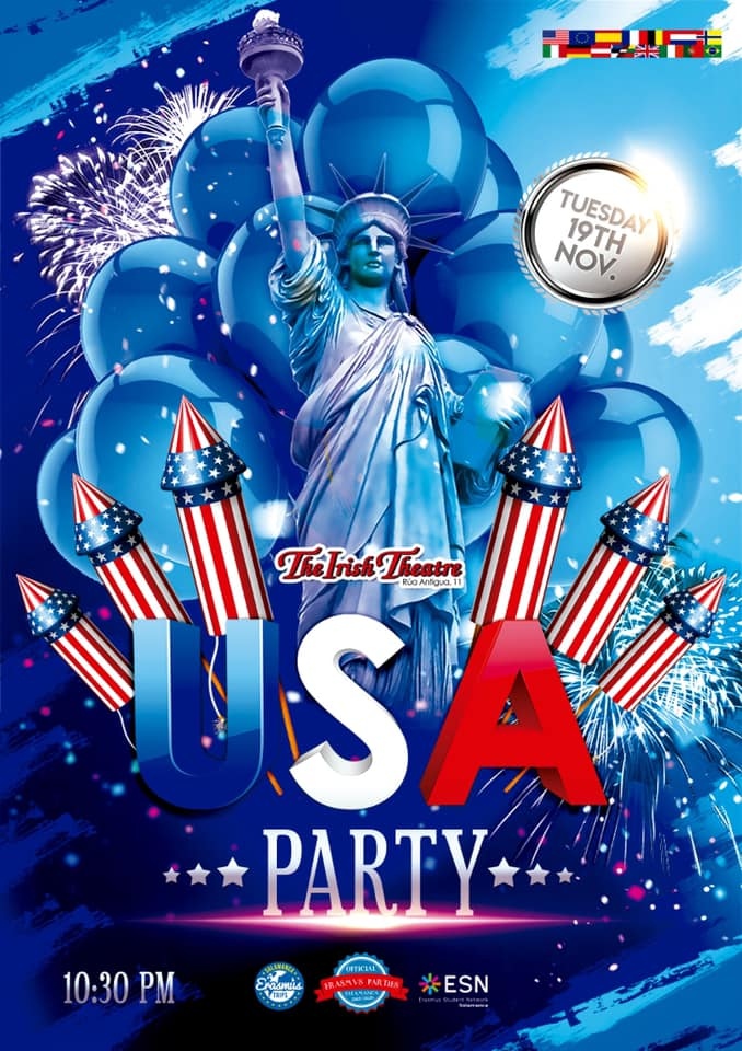 The Irish Theatre USA Party Salamanca Noviembre 2019