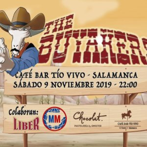 Tío Vivo The Buyakers Salamanca Noviembre 2019