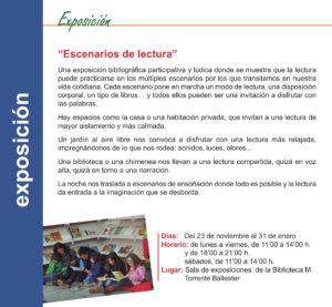 Torrente Ballester Escenarios de lectura Salamanca Noviembre diciembre 2019 enero 2020