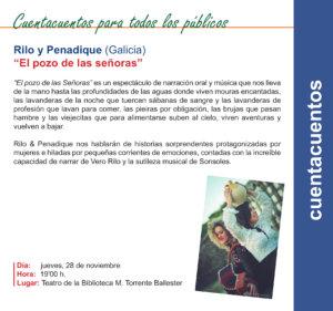 Torrente Ballester Rilo y Penadique Salamanca Noviembre 2019