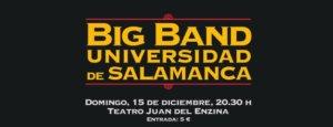 Aula Teatro Juan del Enzina Big Band de la Universidad de Salamanca Diciembre 2019