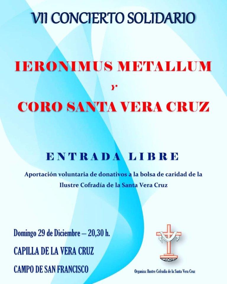 Capilla de la Vera Cruz VII Concierto Solidario Salamanca Diciembre 2019