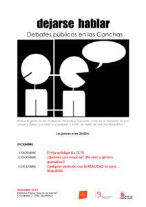 Casa de las Conchas Dejarse hablar Debates públicos en las Conchas Diciembre 2019 Salamanca