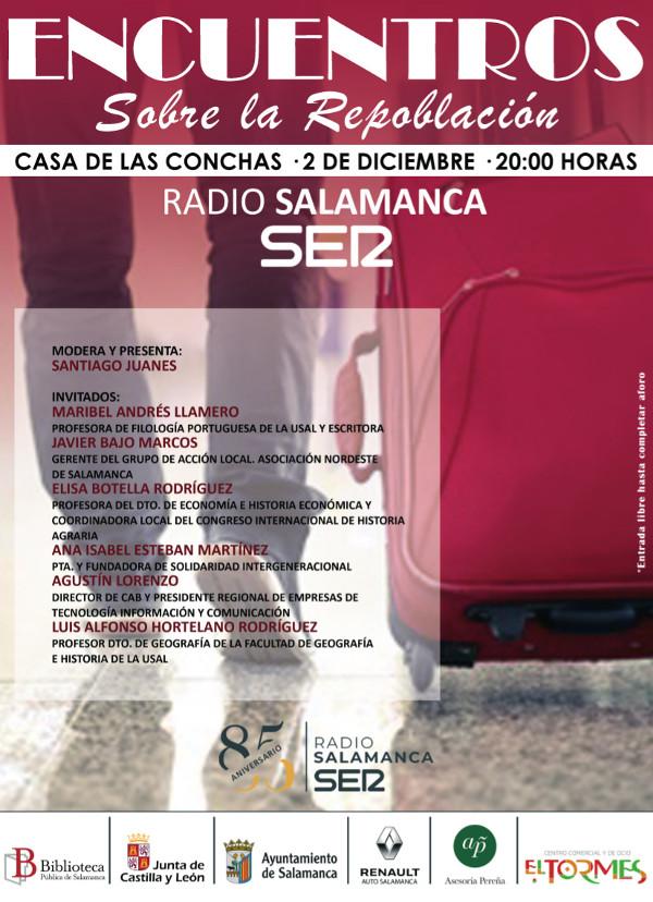 Casa de las Conchas Encuentros sobre la repoblación Salamanca Diciembre 2019