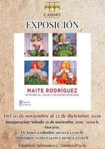 Casino de Salamanca Maite Rodríguez Noviembre diciembre 2019