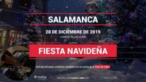 Centro Comercial Vialia Fiesta Navideña Salamanca Diciembre 2019