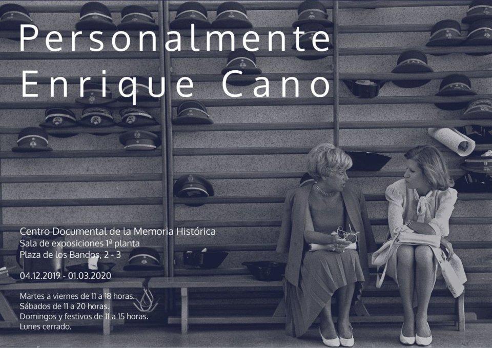 Centro Documental de la Memoria Histórica CDMH Personalmente Enrique Cano Salamanca 20192-2020