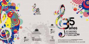 Centro de las Artes Escénicas y de la Música CAEM 35 años de Canciones, de Animación y Tiempo Libre Salamanca Diciembre 2019