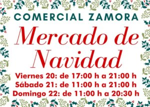Comercial Zamora Mercado de Navidad Salamanca Diciembre 2019