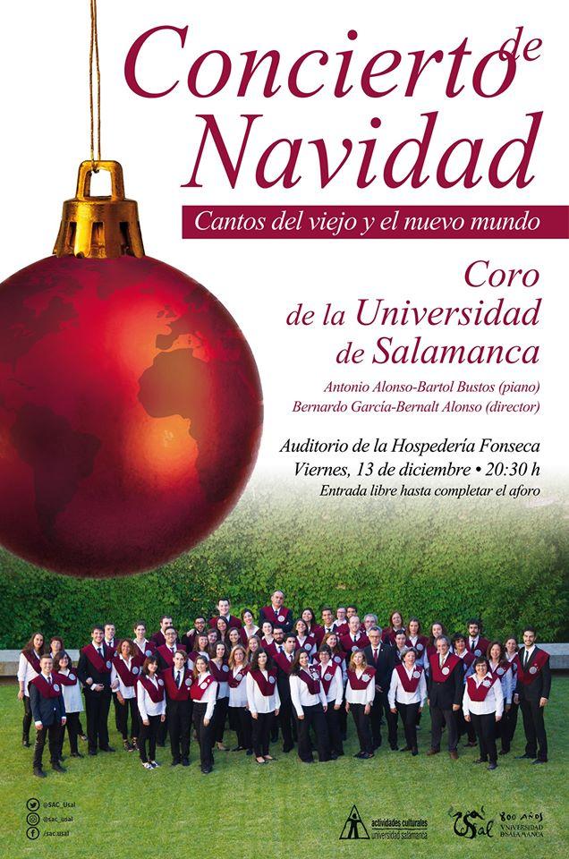 Hospedería Fonseca Coro de la Universidad de Salamanca Diciembre 2019