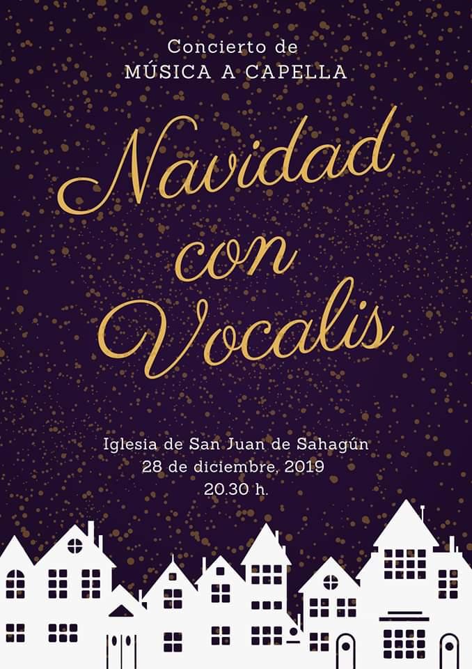 Iglesia de San Juan Navidad con Vocalis Salamanca Diciembre 2019