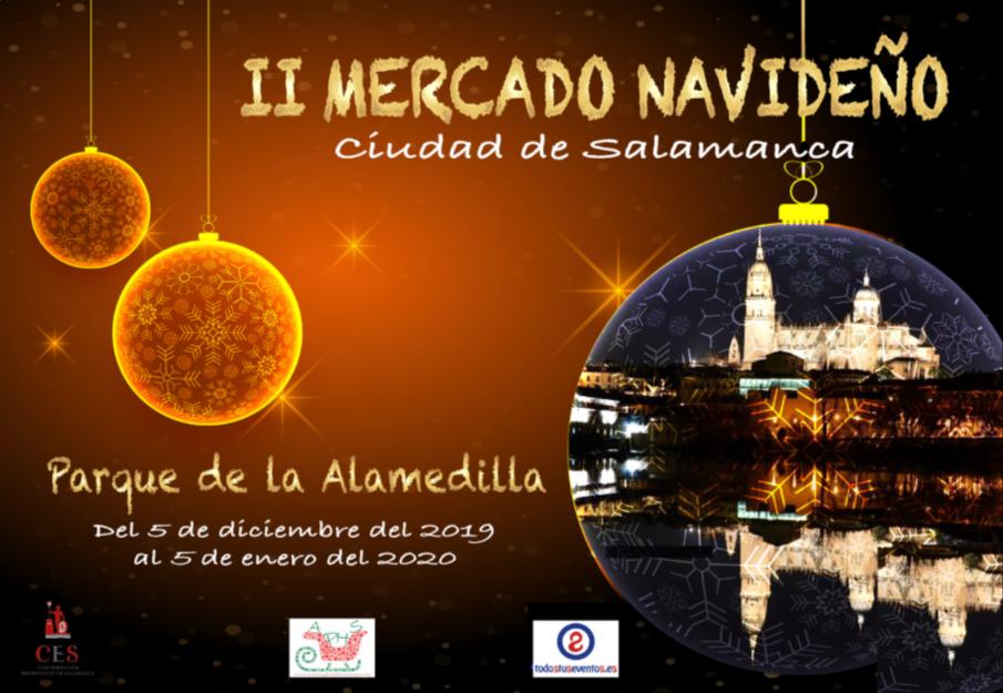 La Alamedilla II Mercado Navideño Ciudad de Salamanca Diciembre 2019 enero 2020