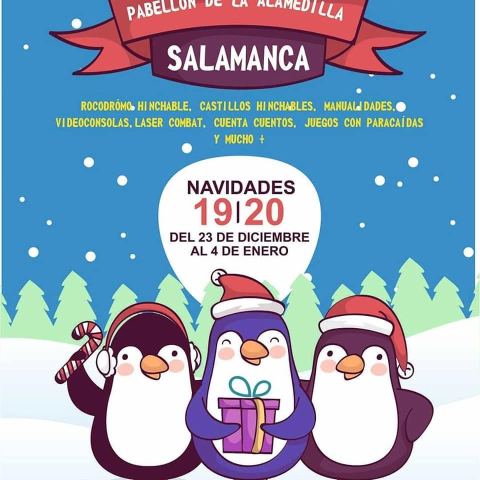 La Alamedilla Navipark Salamanca Diciembre 2019 enero 2020
