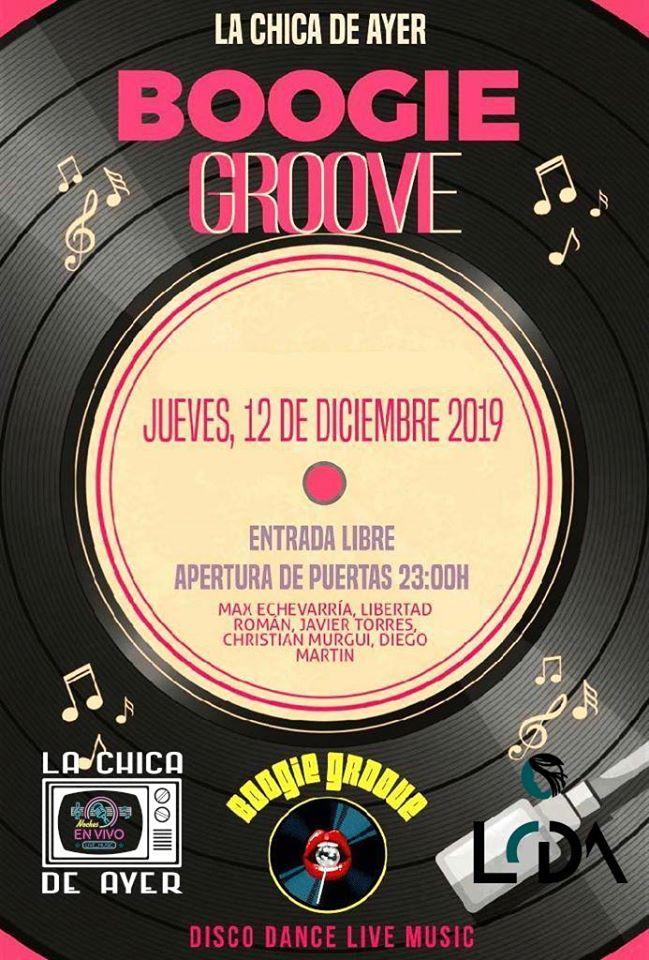 La Chica de Ayer Boogie Groove Salamanca Diciembre 2019