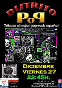 La Chica de Ayer Distrito Pop Salamanca Diciembre 2019