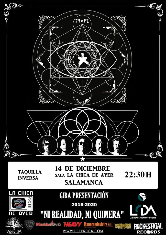 La Chica de Ayer Effe Salamanca Diciembre 2019