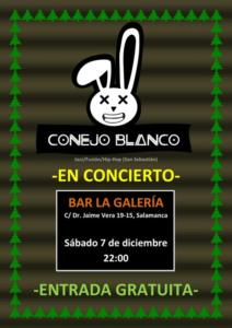 La Galería Conejo Blanco Salamanca Diciembre 2019
