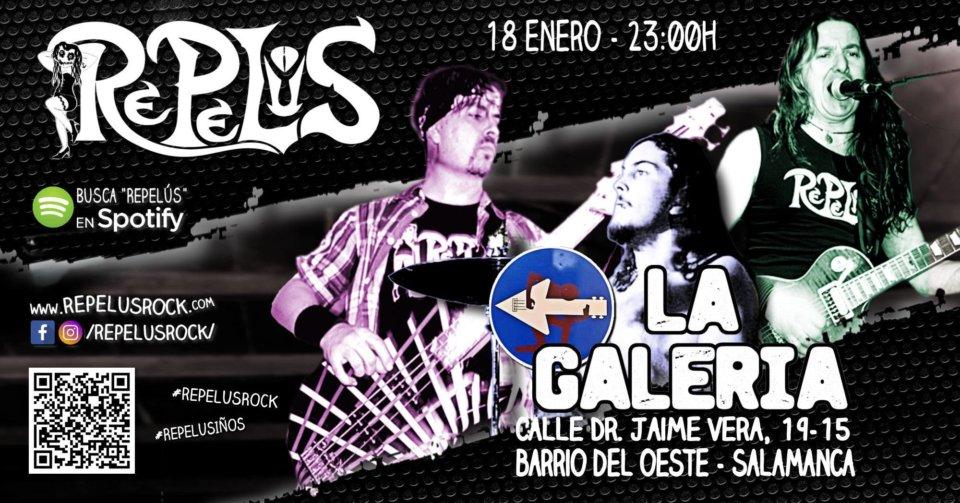 La Galería Repelús Salamanca Enero 2020