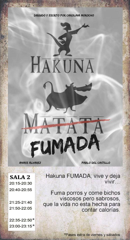 La Malhablada Hakuna fumada Salamanca Diciembre 2019