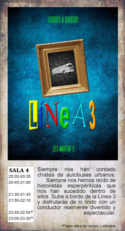 La Malhablada Línea 3 Salamanca Diciembre 2019