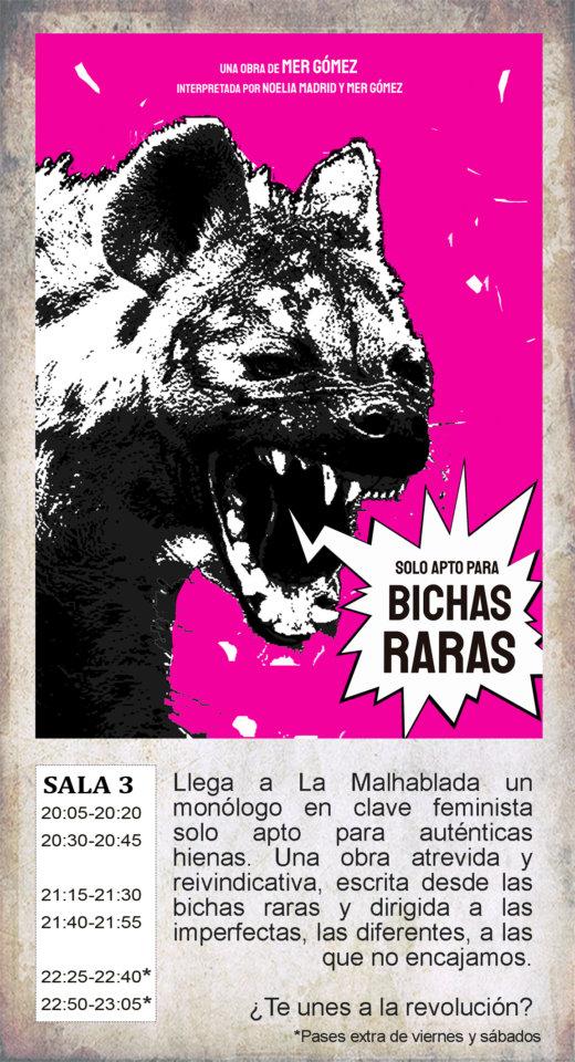 La Malhablada Sólo apto para bichas raras Salamanca Diciembre 2019
