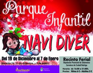Recinto Ferial Parque Infantil Navidíver Salamanca Diciembre 2019 Enero 2020