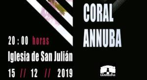 San Julián y Santa Basilisa Coral Annuba Salamanca Diciembre 2019