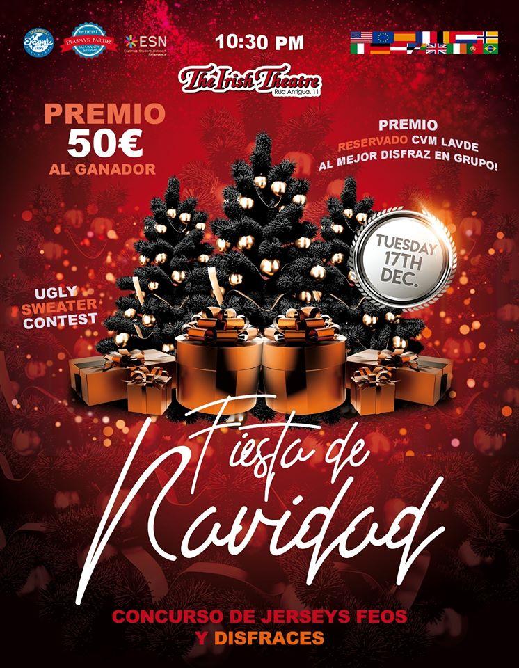 The Irish Theatre Fiesta de Navidad Salamanca Diciembre 2019