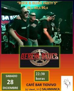 Tío Vivo Berlin Blues Salamanca Diciembre 2019