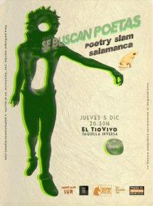 Tío Vivo Poetry Slam Salamanca Diciembre 2019