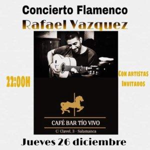 Tío Vivo Rafael Vázquez Salamanca Diciembre 2019