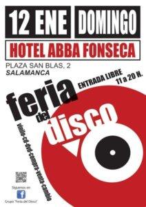 Abba Fonseca Feria del Disco Salamanca Enero 2020