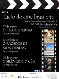 Aula Teatro Juan del Enzina Ciclo de Cine Brasileño Enero febrero marzo 2020