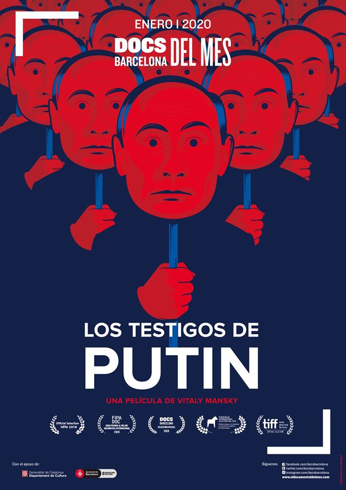 Aula Teatro Juan del Enzina Los testigos de Putin Salamanca Enero 2020