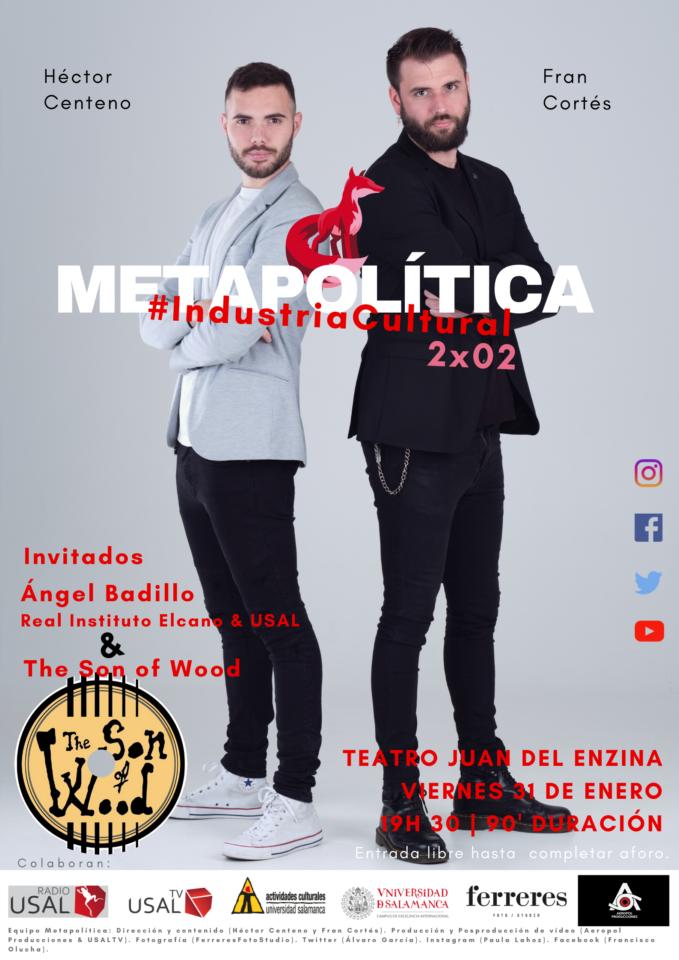 Aula Teatro Juan del Enzina Metapolítica Salamanca Enero 2020