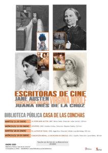 Casa de las Conchas Escritoras de cine Salamanca Enero 2020