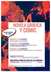 Casa de las Conchas Novela Gráfica y Cómic Salamanca Enero febrero marzo 2020