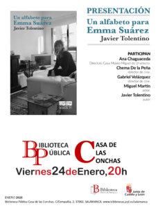 Casa de las Conchas Un alfabeto para Emma Suárez Salamanca Enero 2020