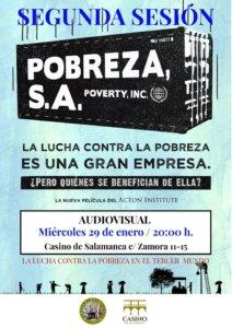 Casino de Salamanca Pobreza, S.A Enero 2020