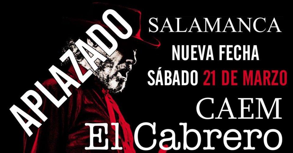 Centro de las Artes Escénicas y de la Música CAEM El Cabrero Salamanca Marzo 2020