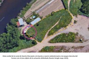 El Ayuntamiento de Salamanca recuperará para visitas turísticas la Noria de Sangre junto al río Tormes en Huerta Otea