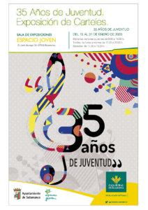 Espacio Joven 35 años de Juventud. Exposición de Carteles Salamanca Enero 2020