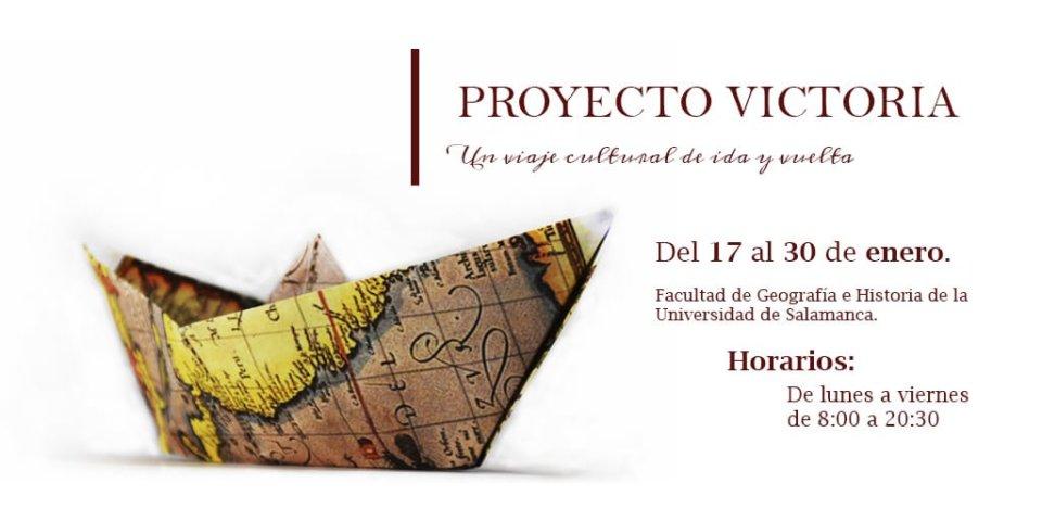 Facultad de Geografía e Historia Proyecto Victoria Salamanca Enero 2020