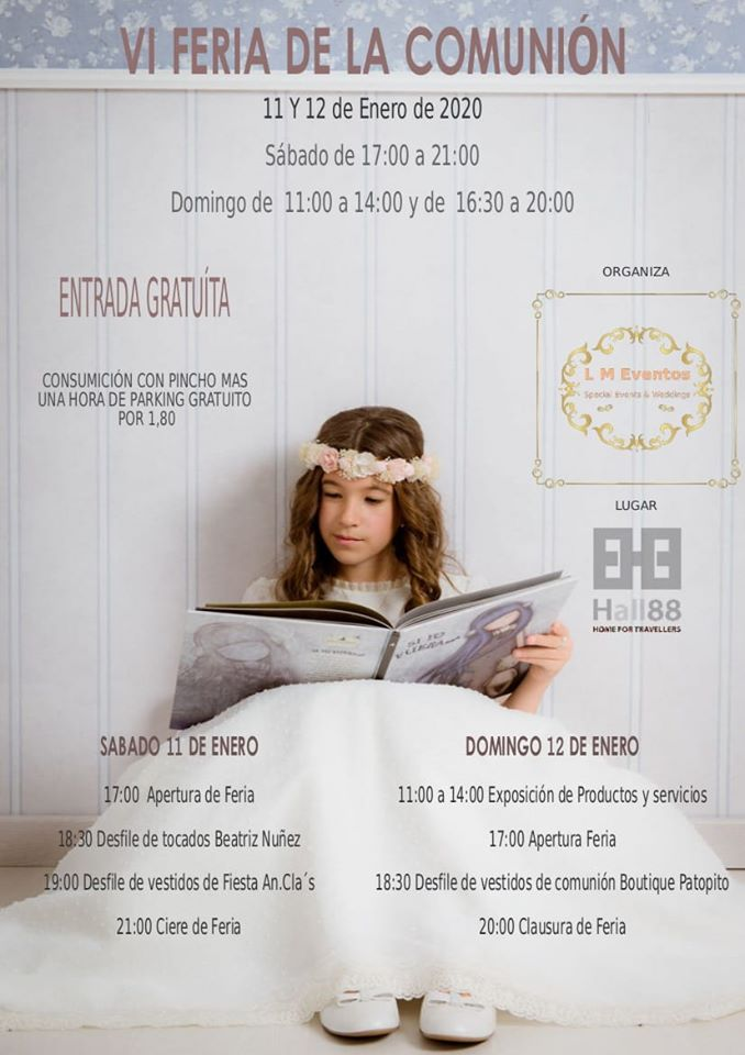 Hall 88 VI Feria de la Comunión Salamanca Enero 2020