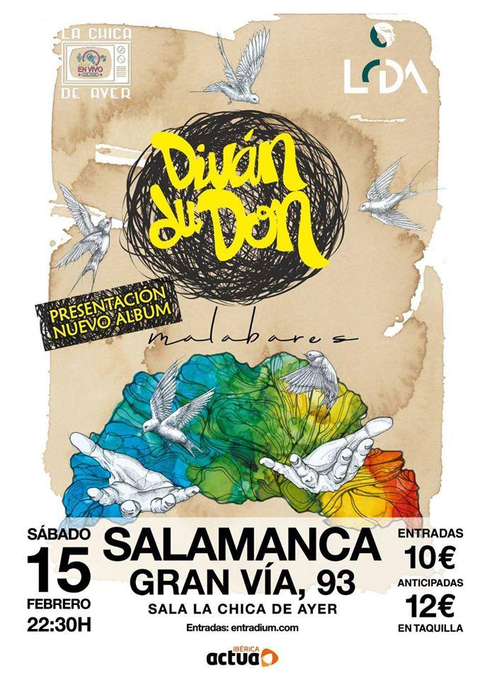 La Chica de Ayer Divan Du Don Salamanca Febrero 2020